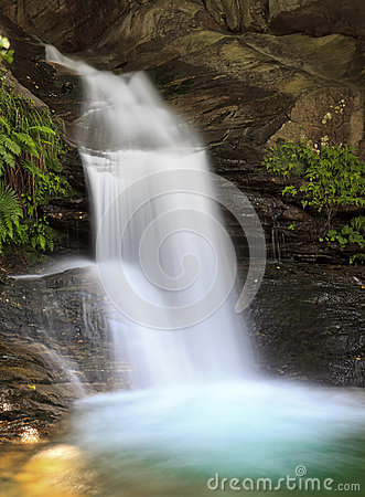 Free Santa Petronilla Waterfalls In Biasca, Switzerland Royalty Free Stock Image - 32250626