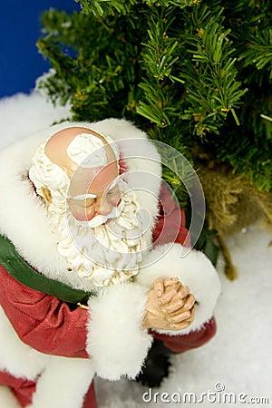 Santa Praying