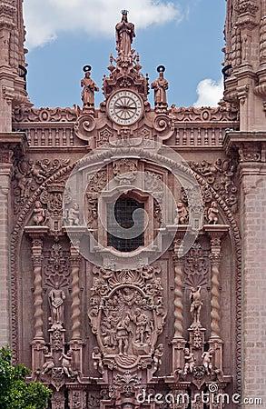 Santa Prisca Church in Taxco Mexico