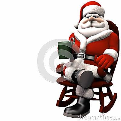Santa Relaxing 1