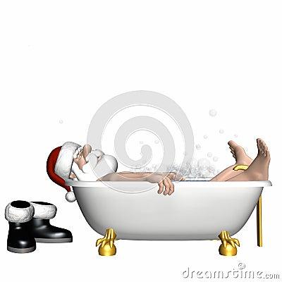 Santa Relaxing 3