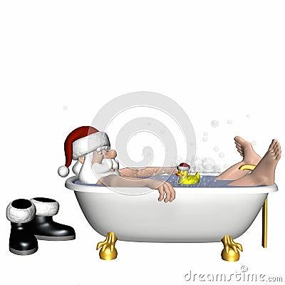 Santa Relaxing 4