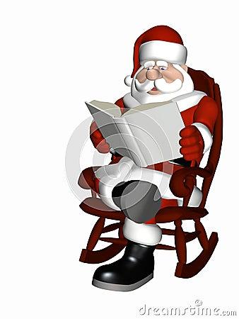 Santa Relaxing 5