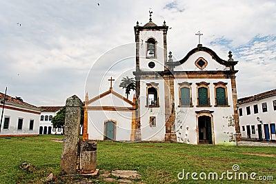 Santa Rita Church Paraty Rio de Janeiro