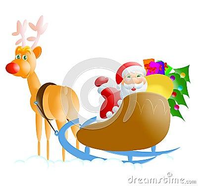 Santa-rudolph