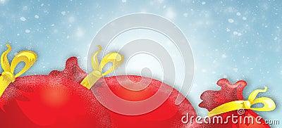 Santa s bag of gifts