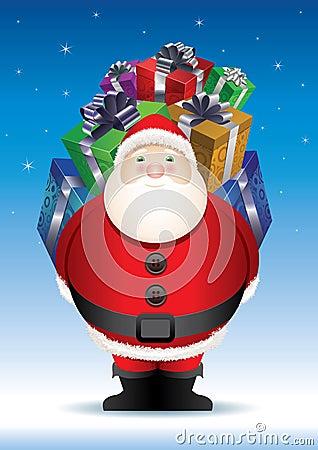 Santa s big surprise.