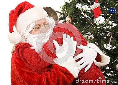 Santa s Christmas Hug