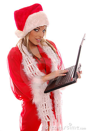 Santa s Christmas Laptop