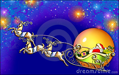 Santa s flight