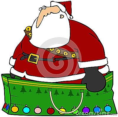 Santa s Gift Bag