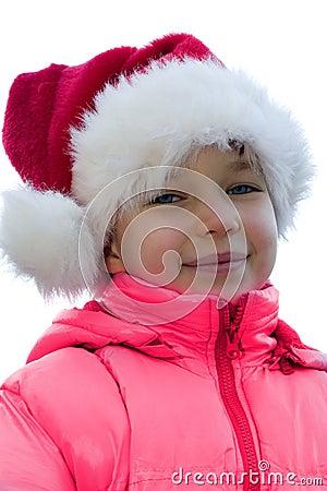 Santa s a girl.