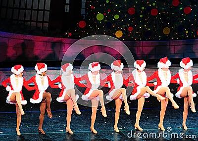 Santa s Girls Editorial Image