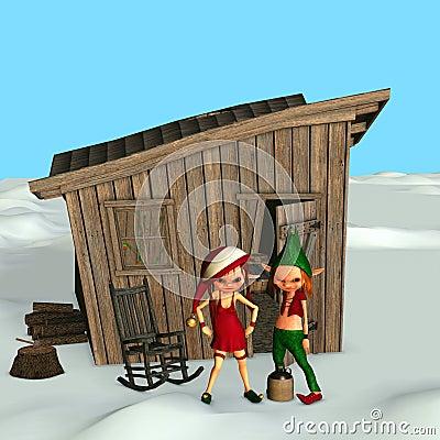 Santa s Inbred Elves