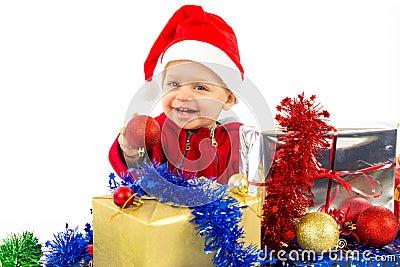 Santa s little helper baby