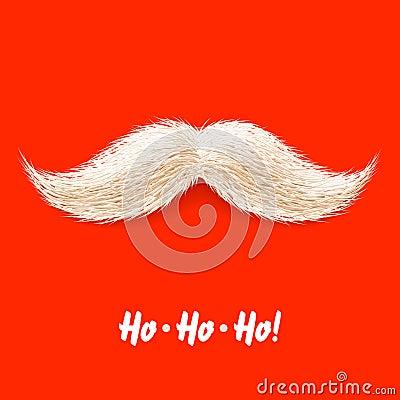 Santa s mustache
