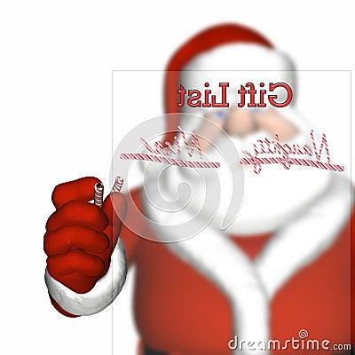 Santa s Naughty and Nice List