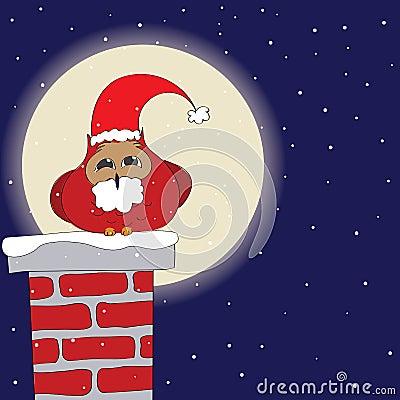 Santa s Owl