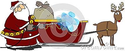 Santa s Pressure Washer