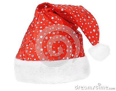 Santa s red hat