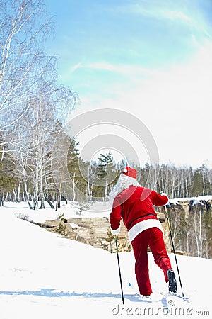 Santa�s route
