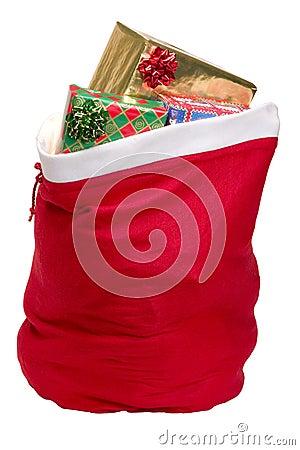 Free Santa S Sack Stock Image - 1407851