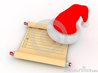 Santa`s task list