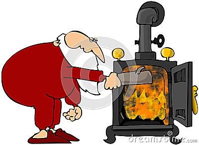 Santa s Wood Stove