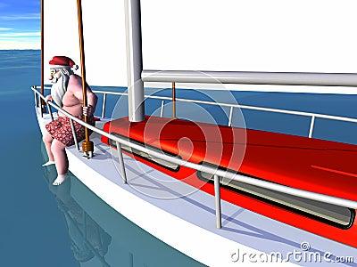 Santa Sailing