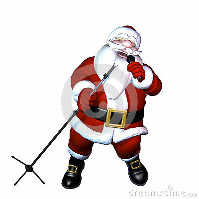 Santa Singing