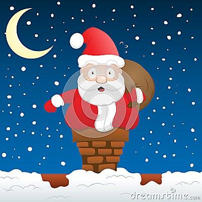 Santa Stuck