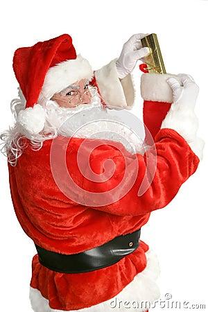 Santa Stuffing Stockings
