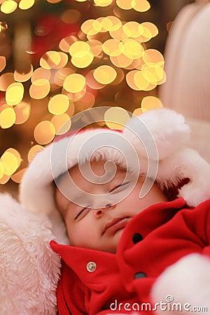 Santa van de baby