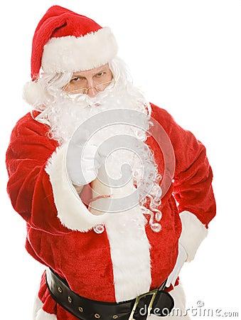 Santa - vous êtes vilain