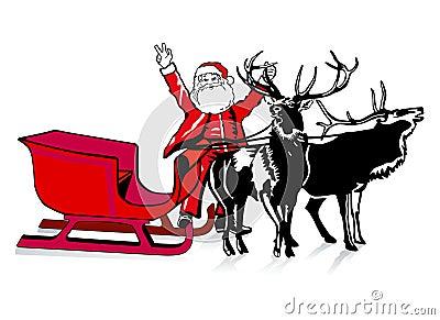 Santa was very generous