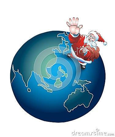 Santa for the whole world