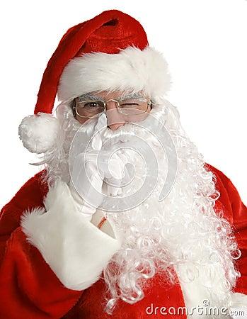 Santa Winks