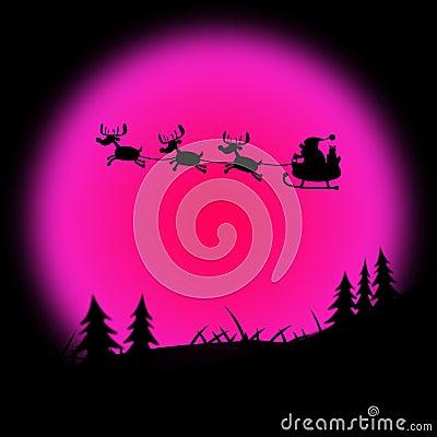 Free Santa Xmas Indicates Father Christmas And Christmastime Royalty Free Stock Photography - 42012977