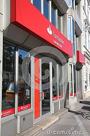 Santander Bank Editorial Photo