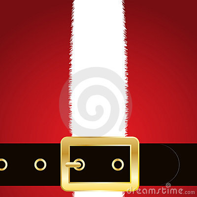 Santas coat and belt