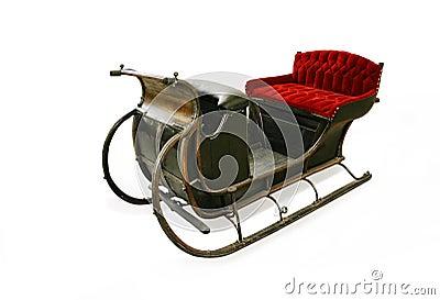 Santas sleigh cristmas