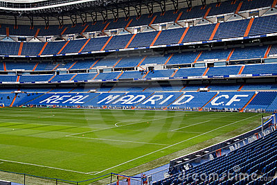 Santiago Bernabeu Editorial Stock Photo