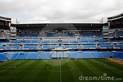 Santiago Bernabeu Editorial Photography