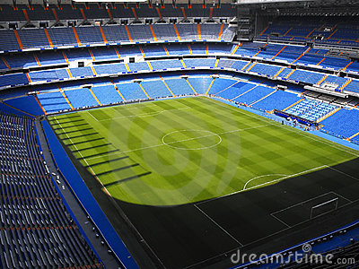 Santiago Bernabeu stadium Editorial Stock Photo