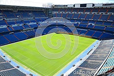 Santiago Bernabeu Stadium of Real Madrid Editorial Stock Image