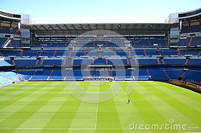 Santiago Bernabeu Stadium of Real Madrid Editorial Image