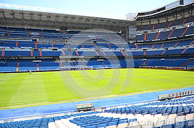 Santiago Bernabeu Stadium of Real Madrid Editorial Photo