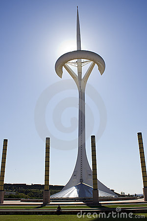 Santiago Calatrava, Telecommunications Tower Editorial Photography
