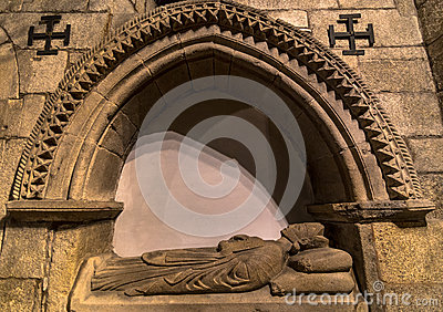Santiago Cathedral Tomb