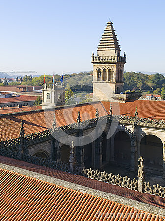 Santiago de Compostela Cathedral 2 Editorial Stock Photo